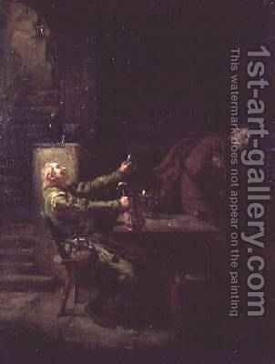 Faust by Aristides Oeconomo - Reproduction Oil Painting