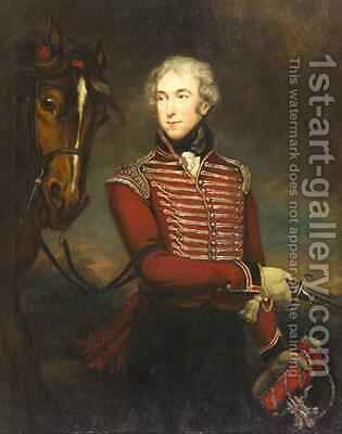 Portrait of Sir John Fleming Leicester Bart 1802 by James Northcote, R.A. - Reproduction Oil Painting