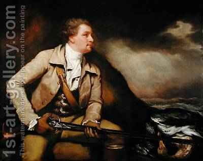Sir William Elford Bart 1782 by James Northcote, R.A. - Reproduction Oil Painting