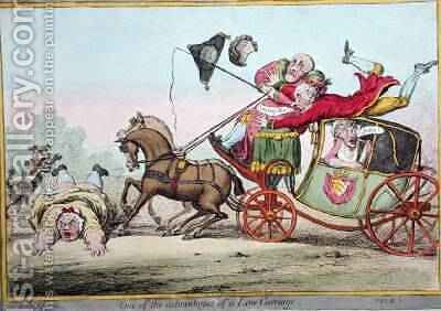One of the advantages of a Low Carriage by (after) North, Brownlow - Reproduction Oil Painting