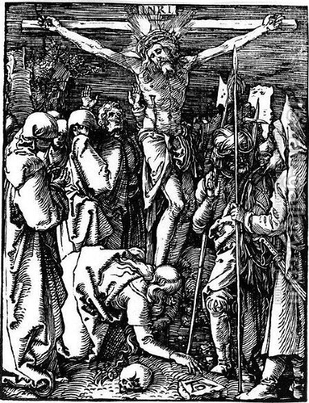 Crucifixion by Albrecht Durer - Reproduction Oil Painting