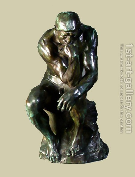 The Thinker by Auguste Rodin - Reproduction Oil Painting