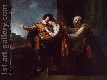 Romeo and Juliet by Benjamin West - Reproduction Oil Painting