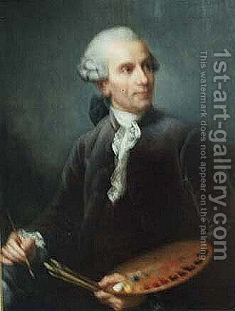 Self Portrait, 1778 by Claude-joseph Vernet - Reproduction Oil Painting