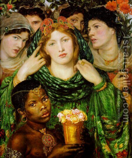 The Beloved by Dante Gabriel Rossetti - Reproduction Oil Painting