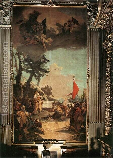 The Sacrifice of Melchizedek by Giovanni Battista Tiepolo - Reproduction Oil Painting