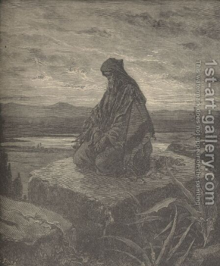 Isaiah by Gustave Dore - Reproduction Oil Painting
