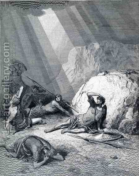 Saul's Conversion by Gustave Dore - Reproduction Oil Painting