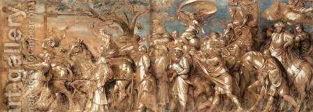 The Triumph of Riches by Hans, the Younger Holbein - Reproduction Oil Painting