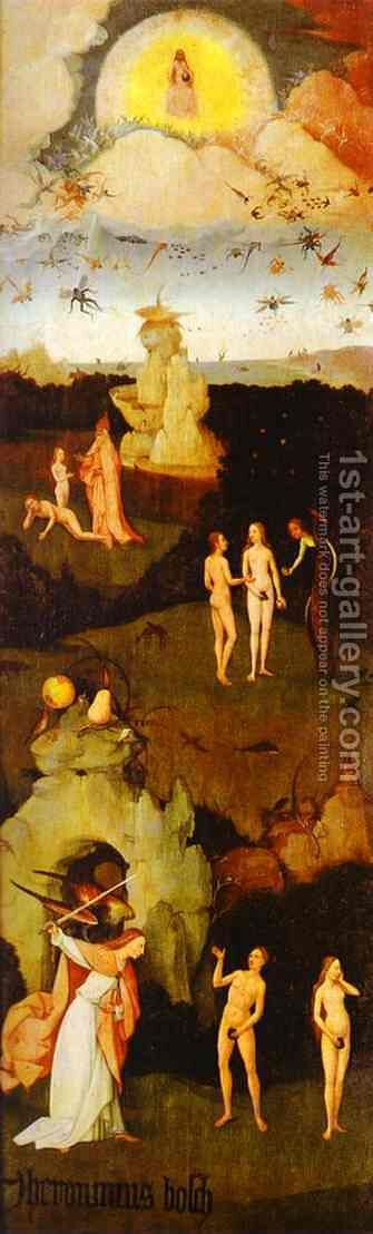 Paradise by Hieronymous Bosch - Reproduction Oil Painting
