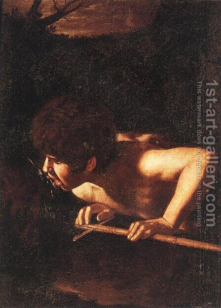 St. John the Baptist at the Well by Caravaggio - Reproduction Oil Painting