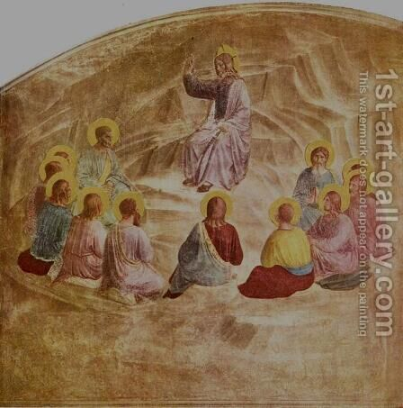 The Sermon on the Mount by Angelico Fra - Reproduction Oil Painting