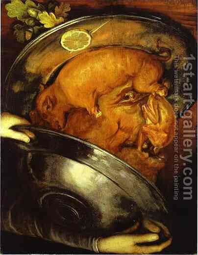 The Cook 2 by Giuseppe Arcimboldo - Reproduction Oil Painting