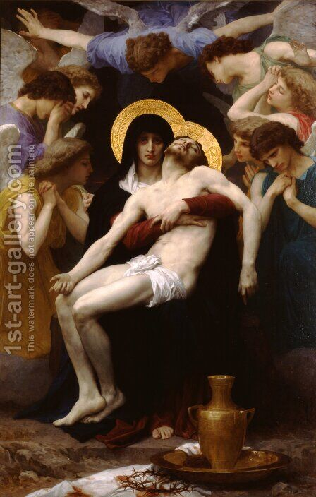 Pieta by William-Adolphe Bouguereau - Reproduction Oil Painting