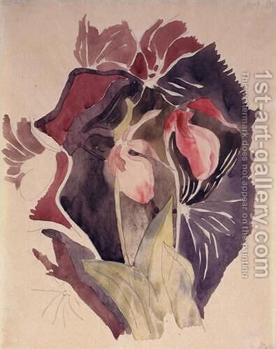 Wild Orchids by Charles Demuth - Reproduction Oil Painting