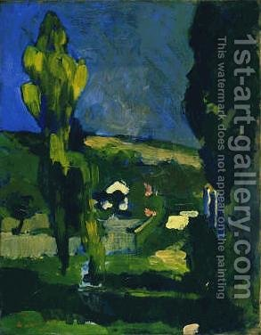 Poplars by Andre Derain - Reproduction Oil Painting