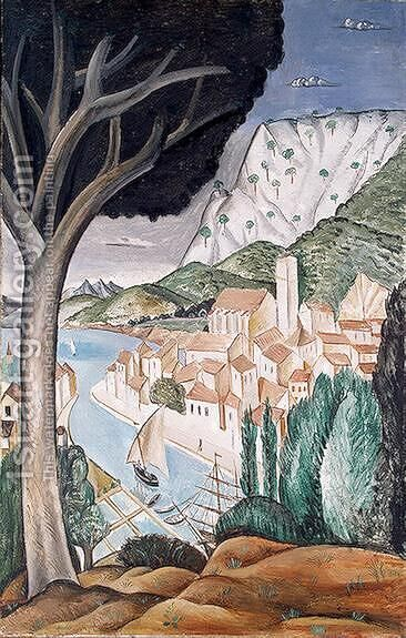 Martigues by Andre Derain - Reproduction Oil Painting