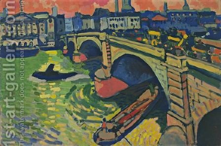 London Bridge by Andre Derain - Reproduction Oil Painting