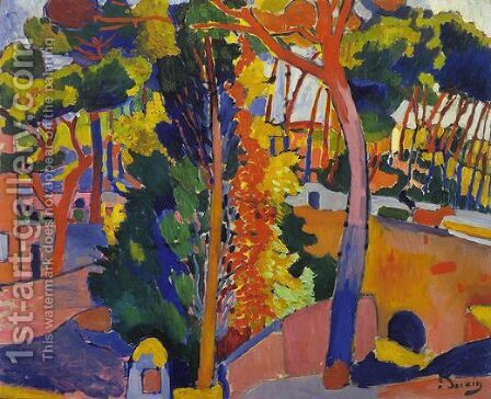 Bridge over the Riou by Andre Derain - Reproduction Oil Painting