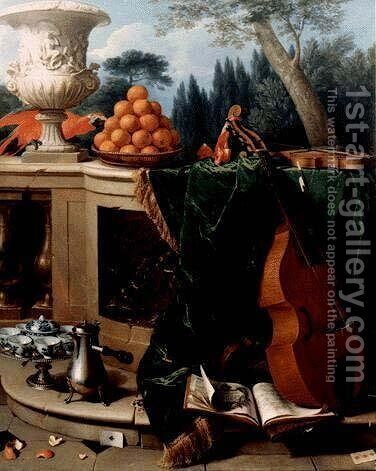 Still Life by Alexandre-Francois Desportes - Reproduction Oil Painting