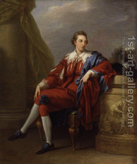 Lord John Simpson by Angelica Kauffmann - Reproduction Oil Painting