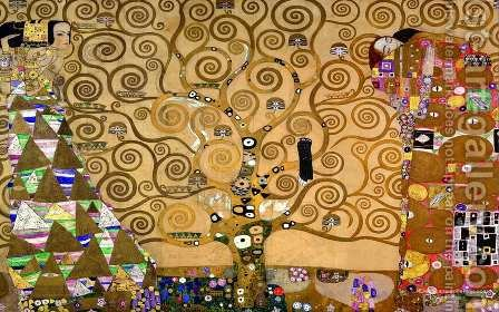 The Tree of Life by Gustav Klimt - Reproduction Oil Painting