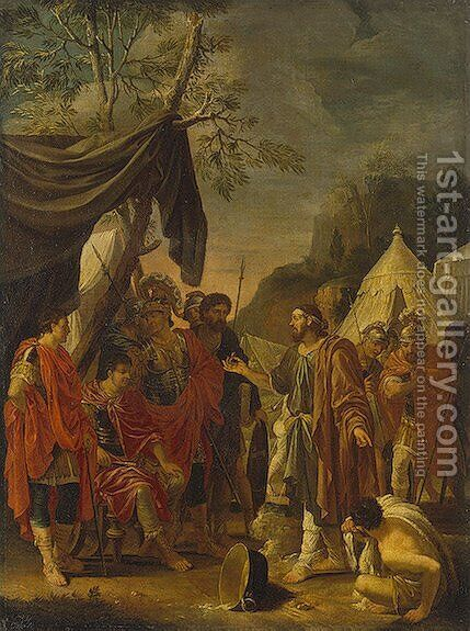 Exorcism of Demons by Charles Le Brun - Reproduction Oil Painting
