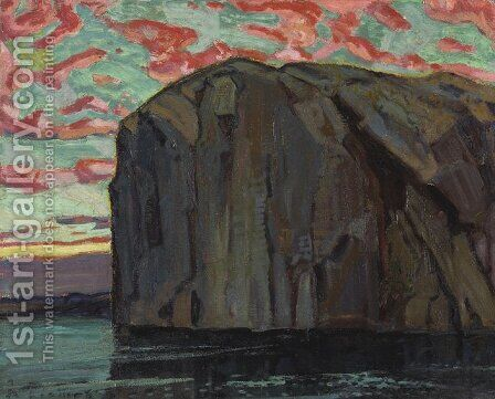 Bon Echo by Arthur Lismer - Reproduction Oil Painting