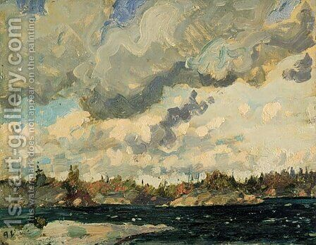 Stormy Sky by Arthur Lismer - Reproduction Oil Painting