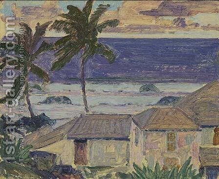 Barbados by James Edward Hervey MacDonald - Reproduction Oil Painting