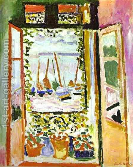 The Window by Henri Matisse - Reproduction Oil Painting