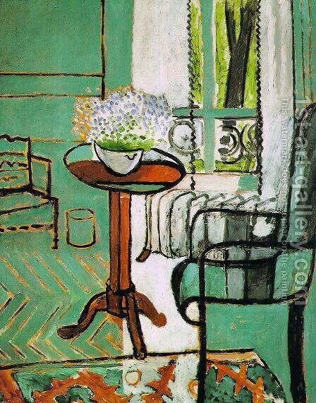 The Window 2 by Henri Matisse - Reproduction Oil Painting