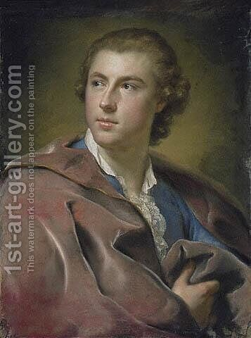 William Burton Conyngham by Anton Raphael Mengs - Reproduction Oil Painting