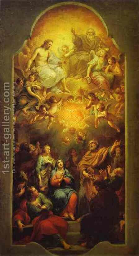 Pentecost by Anton Raphael Mengs - Reproduction Oil Painting