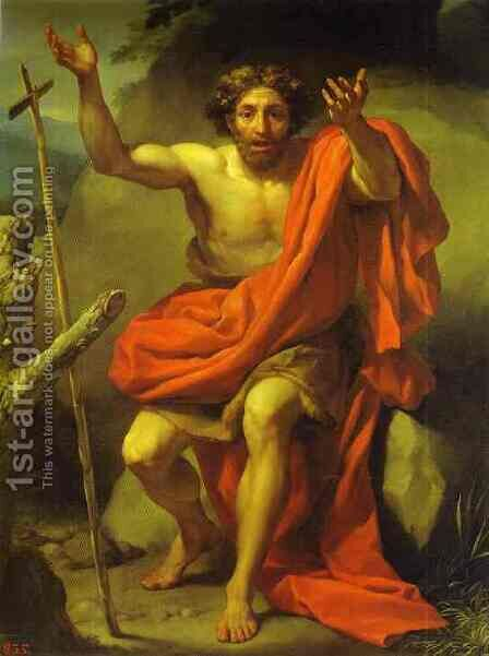 St. John the Baptist by Anton Raphael Mengs - Reproduction Oil Painting