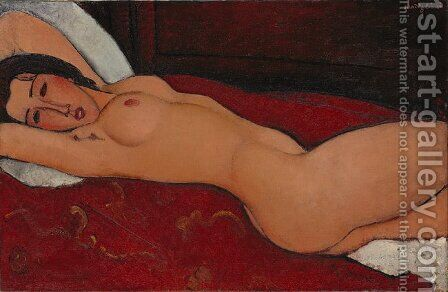 Reclining Nude 2 by Amedeo Modigliani - Reproduction Oil Painting