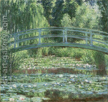 The Japanese Bridge 3 by Claude Oscar Monet - Reproduction Oil Painting