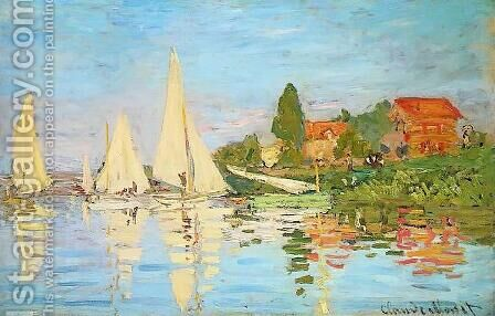 The Regatta at Argenteuil by Claude Oscar Monet - Reproduction Oil Painting