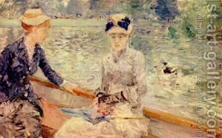 Sunday by Berthe Morisot - Reproduction Oil Painting
