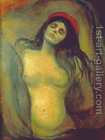 Madonna 2 by Edvard Munch - Reproduction Oil Painting