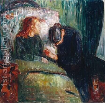 The Sick Child by Edvard Munch - Reproduction Oil Painting