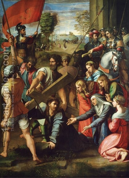 The Hill of Calvary by Raphael - Reproduction Oil Painting