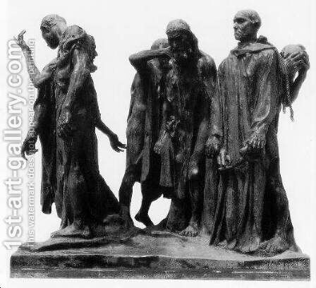 The Burghers of Calais by Auguste Rodin - Reproduction Oil Painting