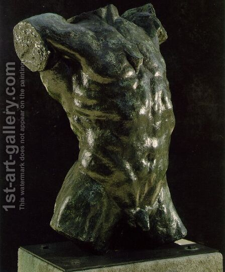 Marsyas by Auguste Rodin - Reproduction Oil Painting