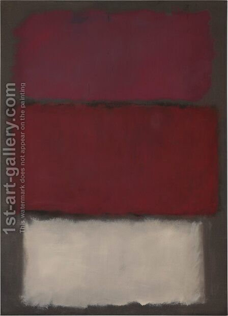 Untitled 4 by Mark Rothko (inspired by) - Reproduction Oil Painting