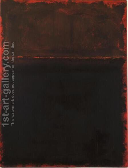 Untitled 8 by Mark Rothko (inspired by) - Reproduction Oil Painting