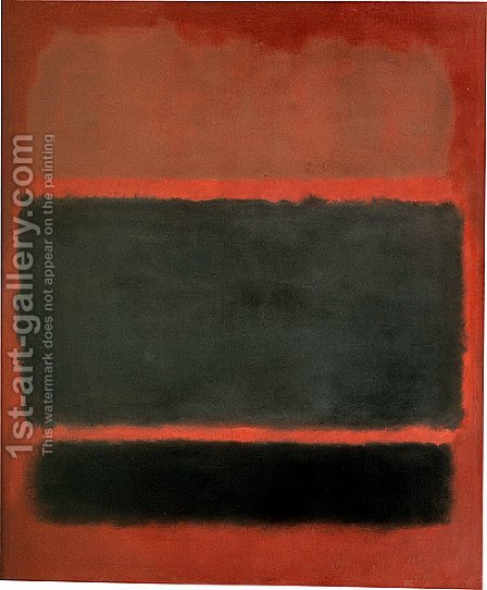 Number 20 by Mark Rothko (inspired by) - Reproduction Oil Painting