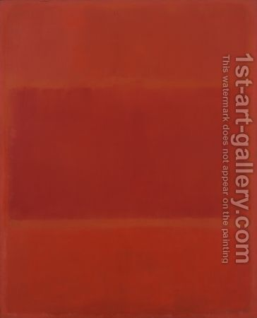Red and Orange by Mark Rothko (inspired by) - Reproduction Oil Painting