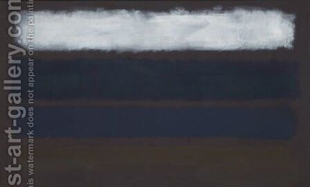 Number 14 by Mark Rothko (inspired by) - Reproduction Oil Painting