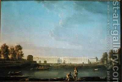 Place Louis XV 1779 by (after) Noel, Alexandre Jean - Reproduction Oil Painting